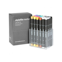 Stylefile - Marker Set 24er Main A