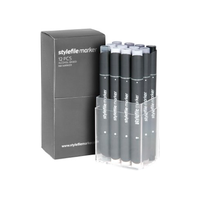 Stylefile - Marker Set 12er Cool Grey