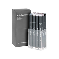 Stylefile - Marker Set 12er Warm Grey